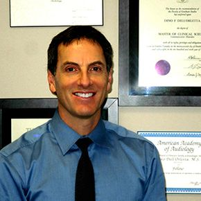 Dino Dell'Orletta, B.Sc., M.Cl.Sc: Our Community's Trusted Audiologist