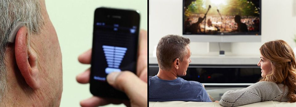 Control App | Couple watching TV